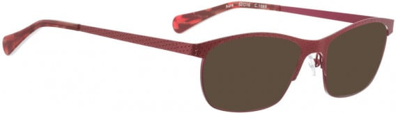 BELLINGER AURA sunglasses in Red