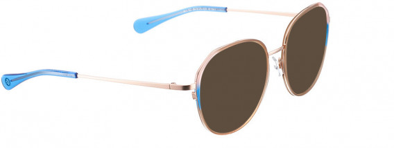 BELLINGER ARC-X2 sunglasses in Brown Transparent
