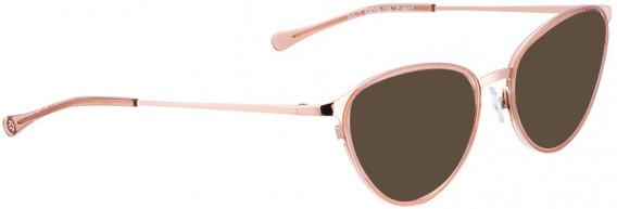 BELLINGER ARC-7 sunglasses in Rose Gold