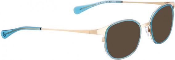 BELLINGER ARC-6 sunglasses in Gold