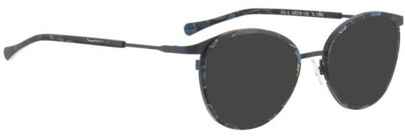 BELLINGER ARC-5 sunglasses in Grey-Blue Pattern