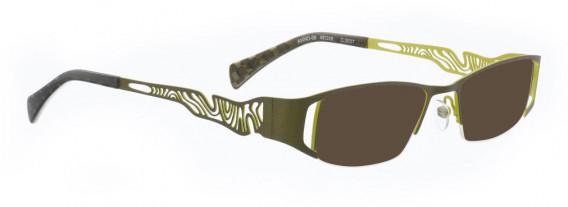 BELLINGER ANNO-09 sunglasses in Olive Green