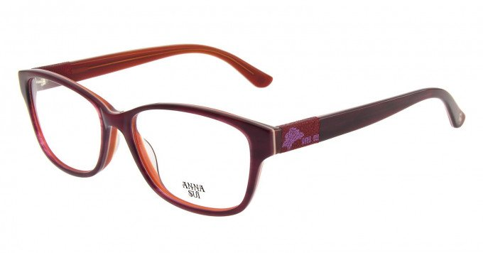 Anna Sui AS617 Glasses in Red