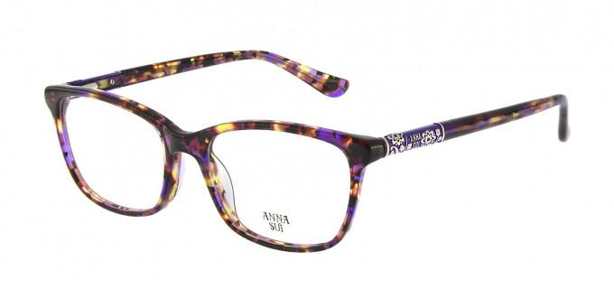 Anna Sui AS658 Glasses in Purple/Tortoise