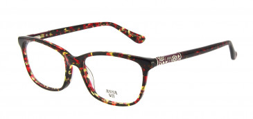 Anna Sui AS658 Glasses in Red/Tortoise