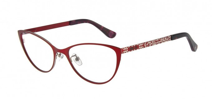 Anna Sui AS214A Glasses in Red