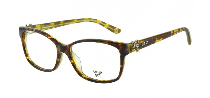 Anna Sui AS662A Glasses in Tortoise/Green