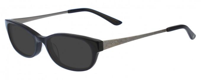 Anna Sui AS566 Sunglasses in Black