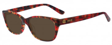 Anna Sui AS567 Sunglasses in Red/Tortoise