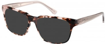 Superdry SDO-CHARLI Sunglasses in Gloss Pink Tortoise