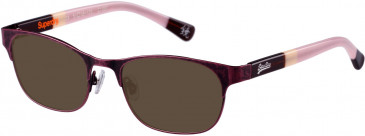 Superdry SDO-DOLLIE Sunglasses in Matt Purple Antique