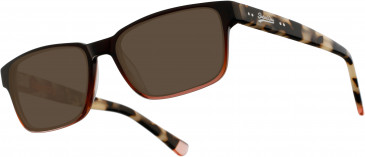 Superdry SDO-PATTON Sunglasses in Gloss Brown Fade