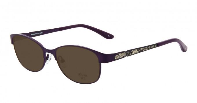 Anna Sui AS203 Sunglasses in Purple