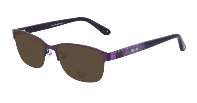 Anna Sui AS204 Sunglasses in Purple