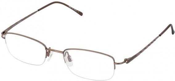 JAEGER 280 Designer Prescription Glasses in Brown