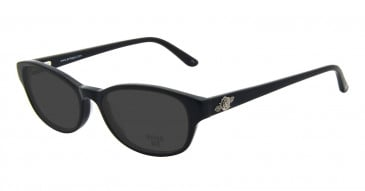 Anna Sui AS593 Sunglasses in Black