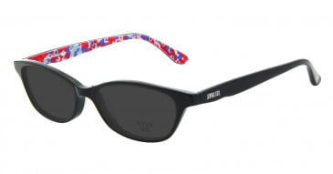 Anna Sui AS594 Sunglasses in Black