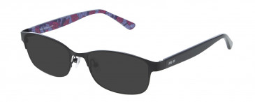 Anna Sui AS207 Sunglasses in Black