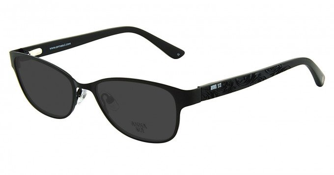 Anna Sui AS208 Sunglasses in Black