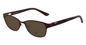 Anna Sui AS208 Sunglasses in Burgundy