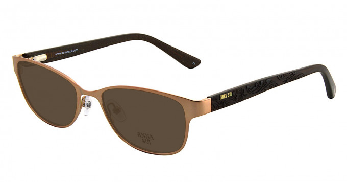 Anna Sui AS208 Sunglasses in Rose Gold