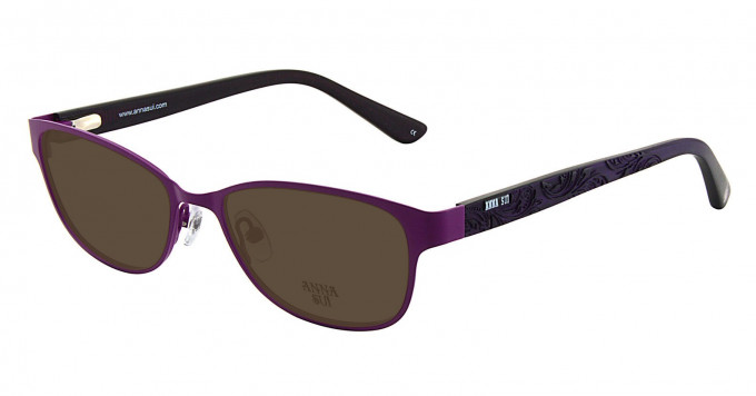 Anna Sui AS208 Sunglasses in Purple