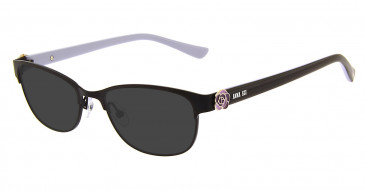 Anna Sui AS211 Sunglasses in Black