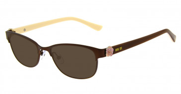 Anna Sui AS211 Sunglasses in Brown