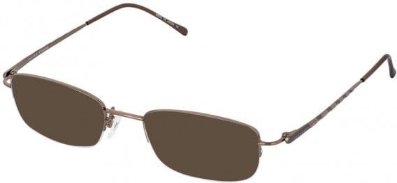 JAEGER 280 Designer Prescription Sunglasses in Brown