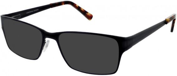 Zenith 78-51 Sunglasses in Black