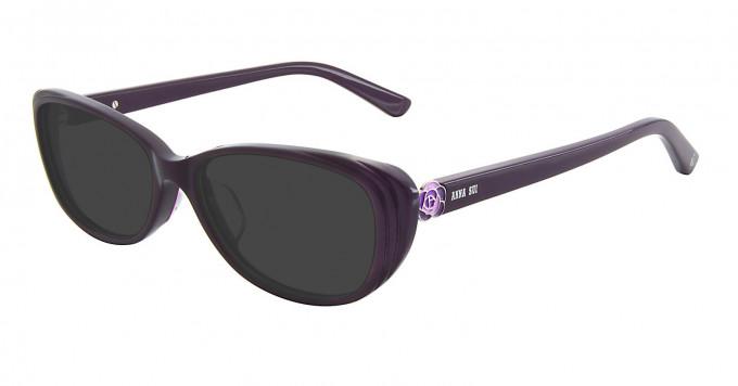 Anna Sui AS606 Sunglasses in Purple