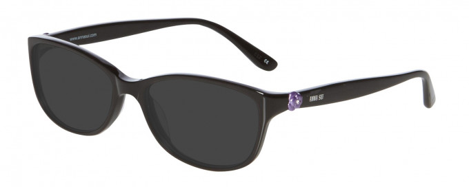 Anna Sui AS610 Sunglasses in Black