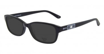 Anna Sui AS614 Sunglasses in Black