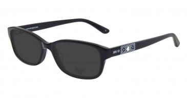 Anna Sui AS614 Sunglasses in Black