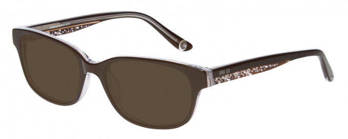 Anna Sui AS615 Sunglasses in Brown