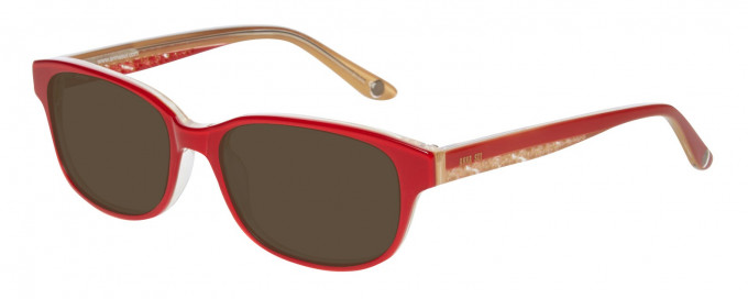 Anna Sui AS615 Sunglasses in Red