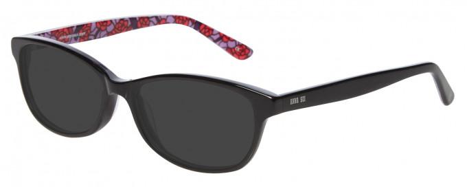 Anna Sui AS616 Sunglasses in Black