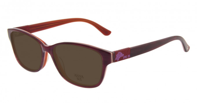 Anna Sui AS617 Sunglasses in Red