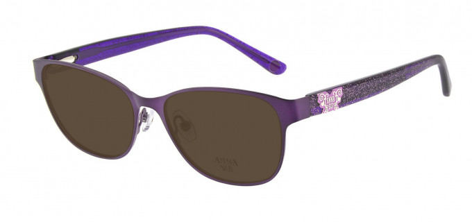 Anna Sui AS213 Sunglasses in Purple