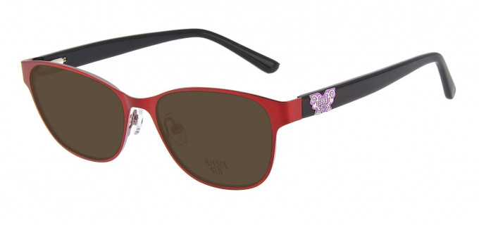 Anna Sui AS213 Sunglasses in Red