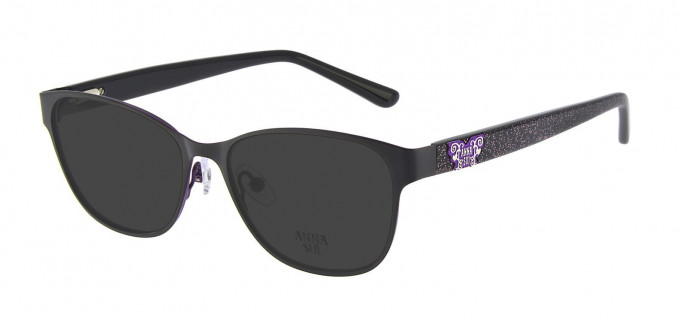 Anna Sui AS213 Sunglasses in Black
