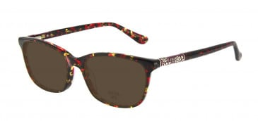 Anna Sui AS658 Sunglasses in Red/Tortoise