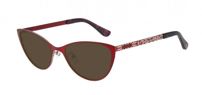 Anna Sui AS214A Sunglasses in Red