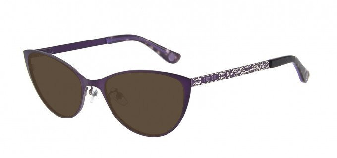 Anna Sui AS214A Sunglasses in Purple