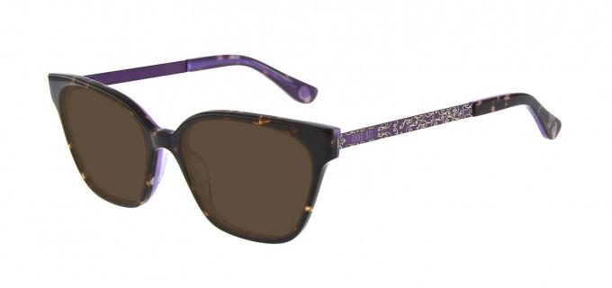 Anna Sui AS659A Sunglasses in Tortoise/Purple