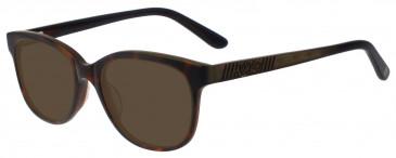 Anna Sui AS568 Sunglasses in Demi/Brown