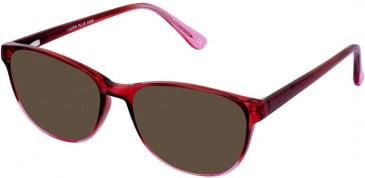 Lazer 4096-50 sunglasses in Claret
