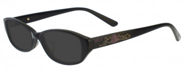 Anna Sui AS575 Sunglasses in Black/Red