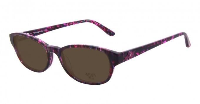 Anna Sui AS593 Sunglasses in Purple