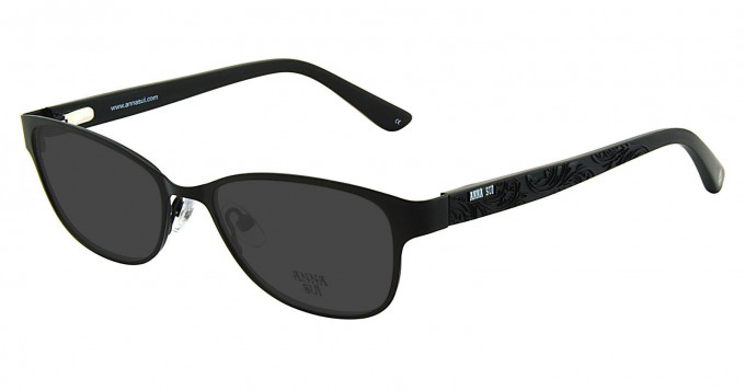 Anna Sui AS208 Sunglasses in Black